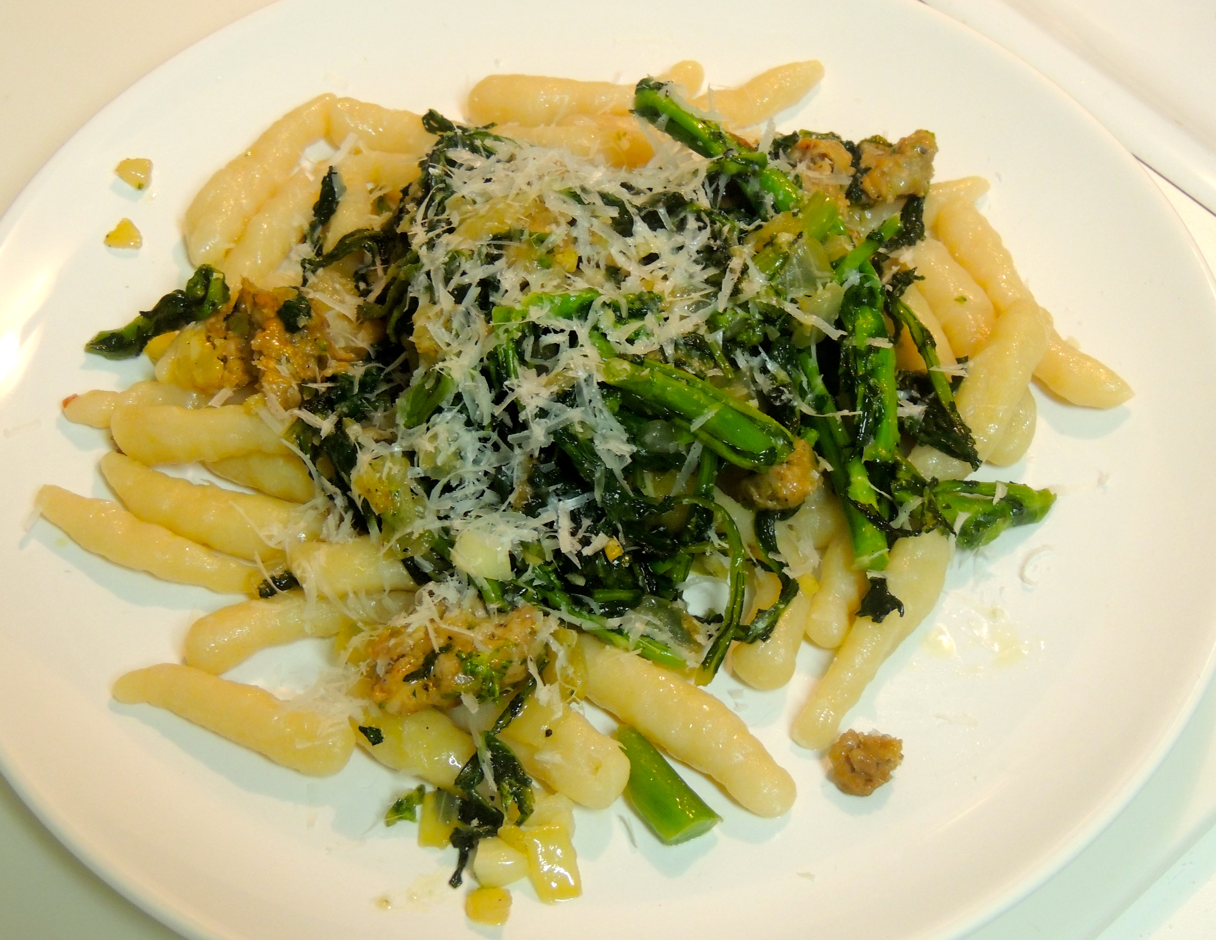 Handmade Ricotta Cavatelli with Sausage and Broccoli Rabe | The ...