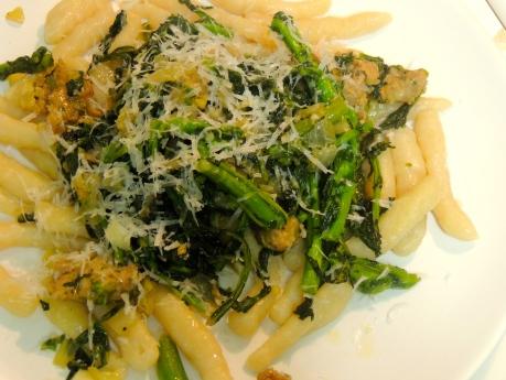 Handmade Ricotta Cavatelli with Sausage and Broccoli Rabe ...