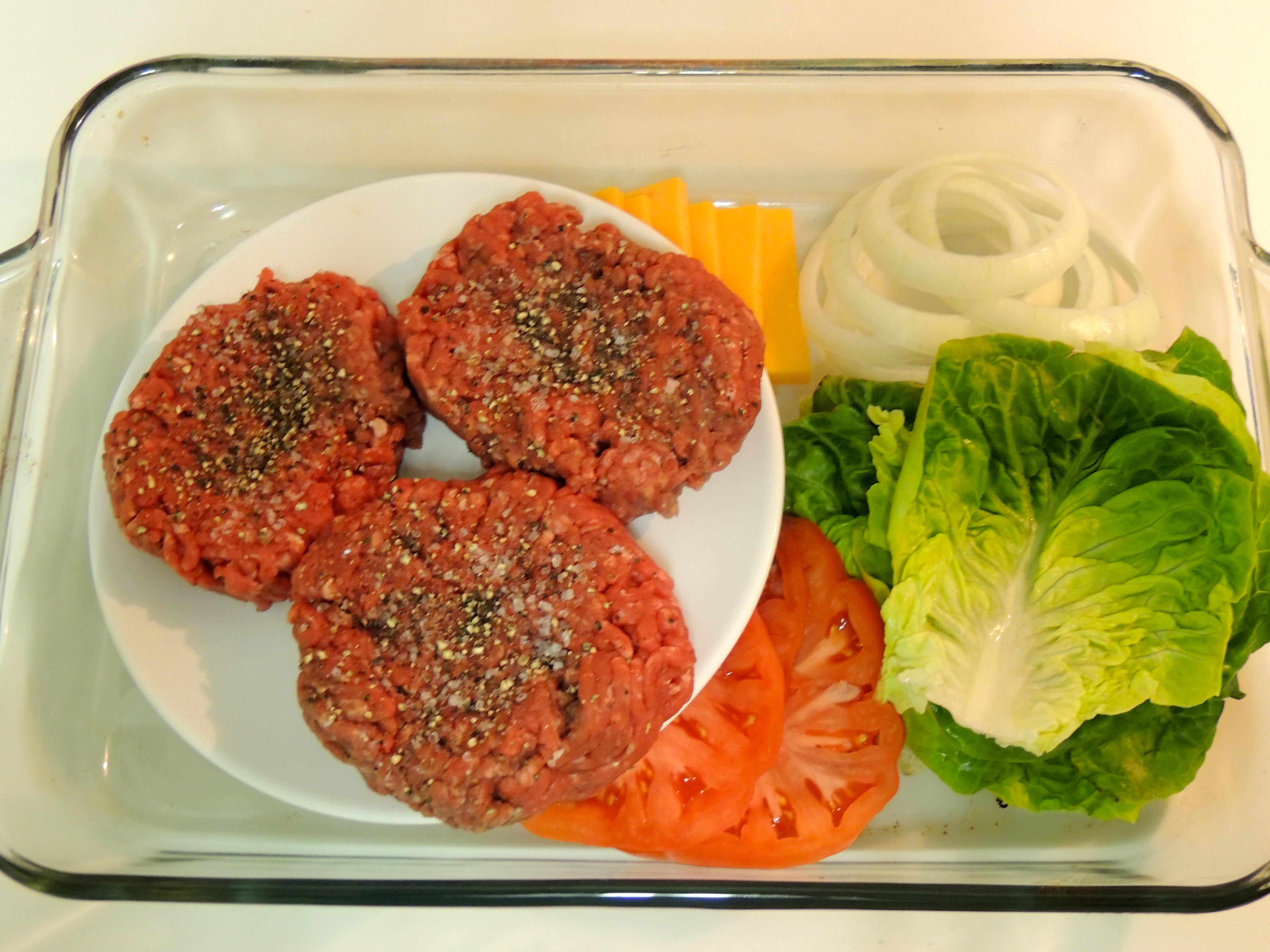 the perfect hamburger the bachelor 39 s test kitchen. Black Bedroom Furniture Sets. Home Design Ideas