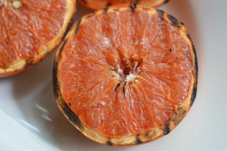 Grilled grapefruit - Bachelors Test Kitchen