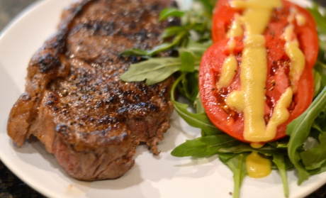 Steak and Salad - Bachelors Test Kitchen